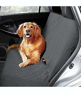 Protector de poliéster Pawslife™ acolchado para asiento de carro tipo banco color gris
