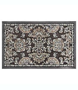 Tapete decorativo con diseño floral, Home Dynamix 48.26 x 78.74 cm en gris