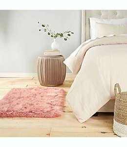 Tapete decorativo de pelo sintético, Aspen Home Dynamix 76.2 cm x1.19m en rosa desteñido
