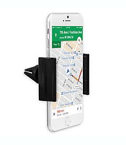 iHome® Soporte de celular para auto en negro