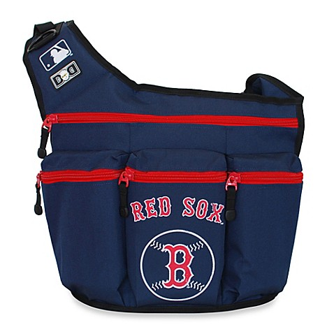 diaper dude mlb red sox messenger diaper bag buybuy baby. Black Bedroom Furniture Sets. Home Design Ideas