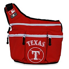 image of Diaper Dude® MLB™ Texas Rangers Messenger Diaper Bag