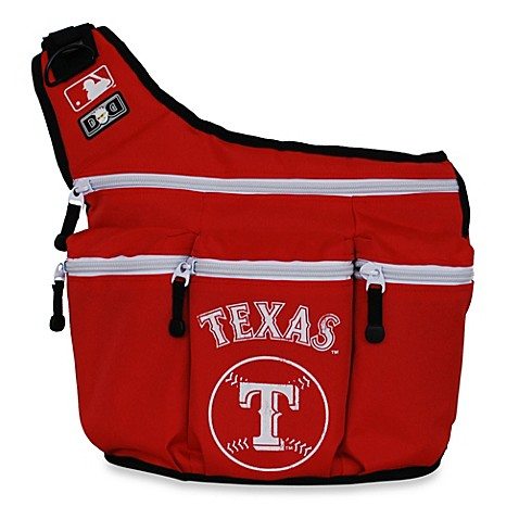diaper dude mlb texas rangers messenger diaper bag bed bath beyond. Black Bedroom Furniture Sets. Home Design Ideas