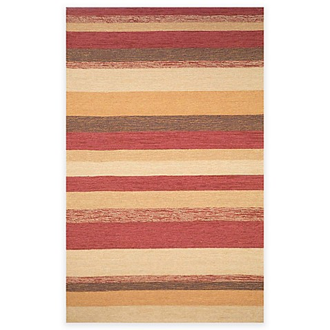 Buy trans ocean stripe 8 foot 3 inch x 11 foot 6 inch indoor outdoor area rug in red from bed - Tips to consider when buying an outdoor rug ...