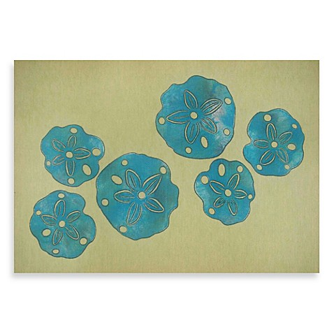 Liora Manne Sand Dollar Door Mat Bed Bath Amp Beyond