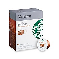image of Starbucks® Verismo™ 12-Count Pike's Place® Roast Brewed Coffee Pods