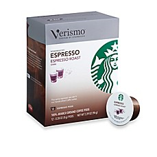 image of Starbucks® Verismo™ 12-Count Espresso Roast Espresso Pods