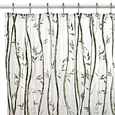 image of Bamboo Vinyl Shower Curtain