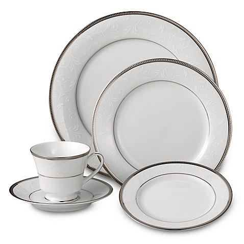 Noritakeu0026reg; Regina Platinum Dinnerware Collection  sc 1 st  Bed Bath u0026 Beyond & Noritake® Regina Platinum Dinnerware Collection - Bed Bath u0026 Beyond