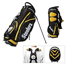 image of NFL Pittsburgh Steelers Fairway Stand Golf Bag