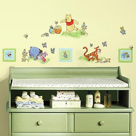 RoomMates Winnie the Pooh Peel   Stick Wall Decals. RoomMates Winnie the Pooh Peel   Stick Wall Decals   buybuy BABY