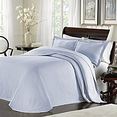 image of Lamont Home™ Majestic Bedspread in Blue