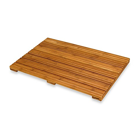 Ecostyles Bamboo Bath Mat Bed Bath Beyond