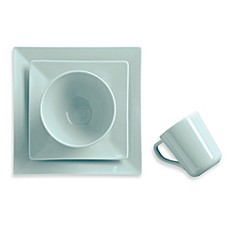 image of Real Simple® Square Dinnerware in Seaglass