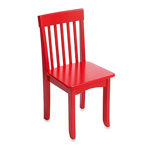 KidKraft Avalon Chair in Red Bed Bath & Beyond