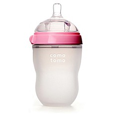 image of Comotomo™ 8-Ounce Baby Bottle in Pink