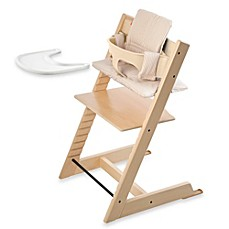 image of Stokke® Tripp Trapp® High Chair Complete Bundle in Natural