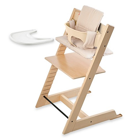 Stokke 174 Tripp Trapp 174 High Chair Complete Bundle In Natural