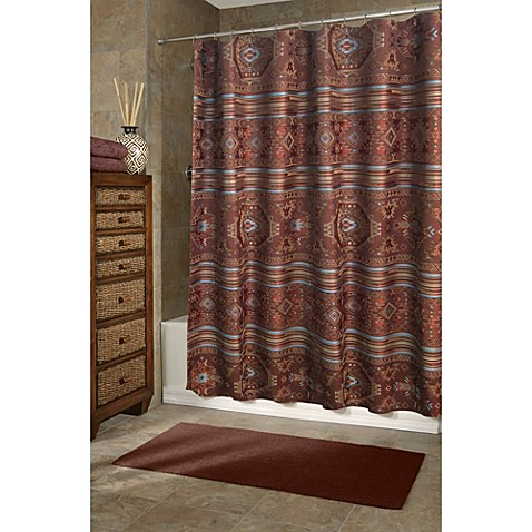 Veratex Pueblo 72 Inch X 75 Shower Curtain