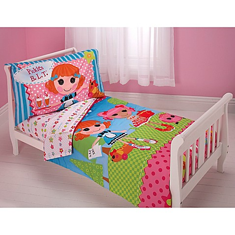 Lalaloopsy one of a kind 4 piece toddler set bed bath for One of a kind beds