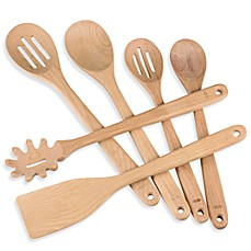 image of OXO Good Grips® Wooden Utensils