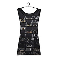 image of Umbra® Little Black Dress Hanging Jewelry Organizer