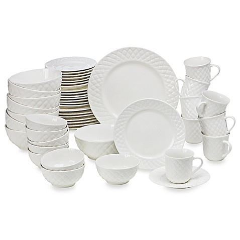 Gibson Home Antique Quilt 48-Piece Dinnerware Set  sc 1 st  Bed Bath u0026 Beyond & Gibson Home Antique Quilt 48-Piece Dinnerware Set - Bed Bath u0026 Beyond