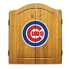 MLB® Dart Board with Cabinet