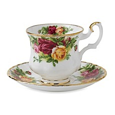 image of Royal Albert Old Country Roses After Dinner Saucer