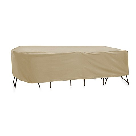 Buy protective covers oval rectangle 120 inch x 80 inch for 120 inch table