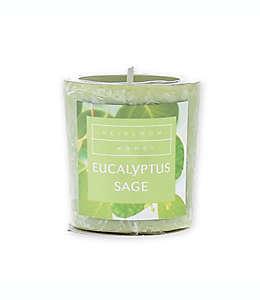 Vela votiva Heirloom Home™ aroma Eucalyptus Sage Spice de 56.69 g