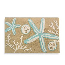 image of Tremiti Starfish Bath Rug