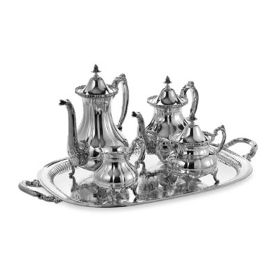 image of Reed & Barton® Burgundy 5-Piece Tea Set