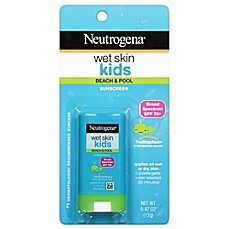 image of Neutrogena® Wet Skin Kids Stick Sunscreen Broad Spectrum SPF 70