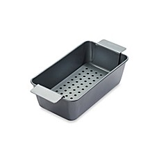 image of Chicago Metallic™ Professional Healthy Meatloaf Pan Set with Armor-Glide Coating
