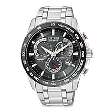 image of Citizen Men's Eco-Drive  Perpetual Chronograph A-T Watch