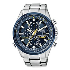 image of Citizen Men's Eco-Drive Blue Angels World Chronograph A-T