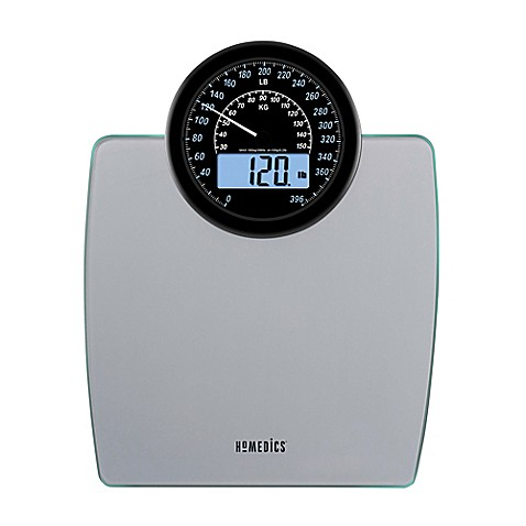Homedics 900 Dual Display Digital Bathroom Scale
