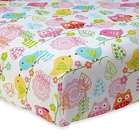 Buy NoJoR Love Birds Fitted Crib Sheet From Bed Bath Amp Beyond