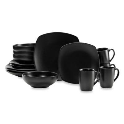 Dinnerware Sets Stoneware Square Dinnerware and more Bed Bath