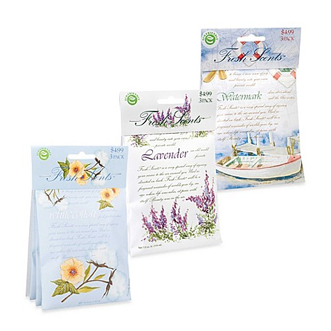 image of fresh scents scent packets set of 3 - Air Mattress Bed Bath And Beyond