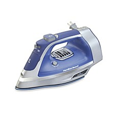 image of Hamilton Beach® Durathon® Electronic Iron with Retractable Cord