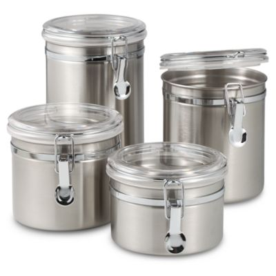 Metal Kitchen Canisters Bed Bath And Beyond