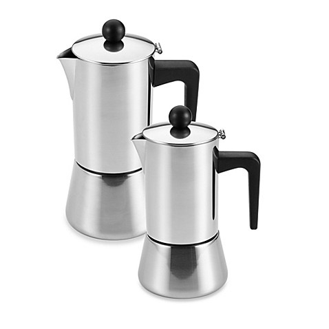 Bonjour 174 Stovetop Stainless Steel Espresso Makers Bed