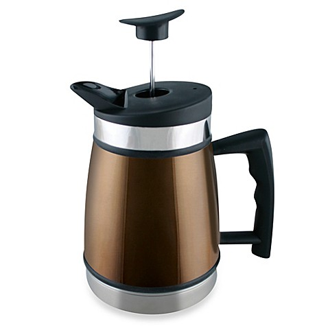 buy planetary design 32 oz table top french press in brown from bed bath beyond. Black Bedroom Furniture Sets. Home Design Ideas