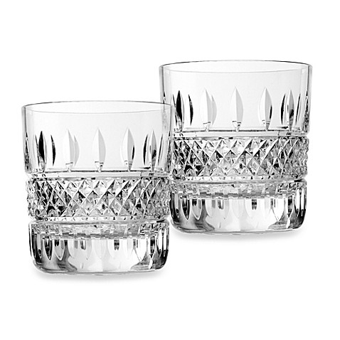 Crystal Double Old Fashion Glasses David Simchi Levi