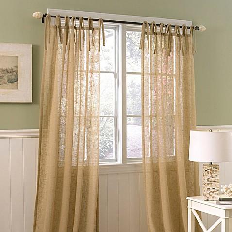 Laura Ashley® Danbury 42-Inch x 84-Inch Decorative Window Curtain ...