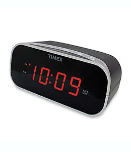 Despertador digital Timex®, negro