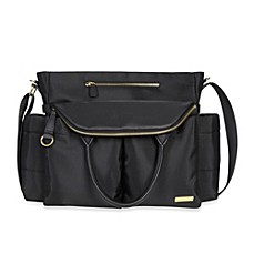 designer maternity bags 4m9l  image of SKIP*HOP庐 Chelsea Diaper Bag in Black