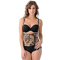 image of Couture Belly Bandit® in Black Lace Print